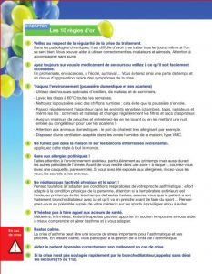 Brochure - 10 règles d'or